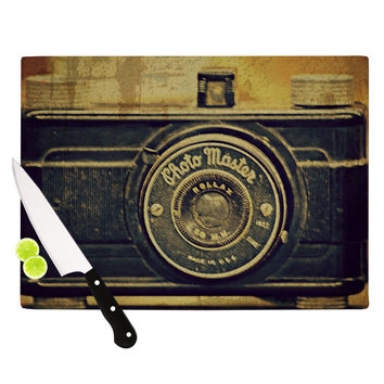 "Robin Dickinson ""Discarded Treasure"" Vintage Camera Cutting Board"