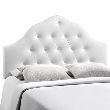 Sovereign Full Vinyl Headboard White