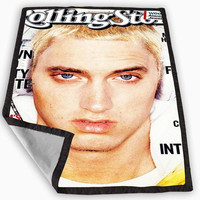 Eminem Blanket for Kids Blanket, Fleece Blanket Cute and Awesome Blanket for your bedding, Blanket fleece **