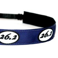 26.2 Marathon Navy Blue Headband