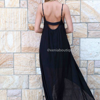 SUMMER BREEZE MAXI , DRESSES, TOPS, BOTTOMS, JACKETS & JUMPERS, ACCESSORIES, 50% OFF SALE, PRE ORDER, NEW ARRIVALS, PLAYSUIT, COLOUR, GIFT VOUCHER,,MAXIS,SLEEVELESS,Black Australia, Queensland, Brisbane