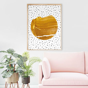 Stay Gold #society6 #decor #buyart by 83 Oranges®