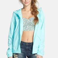 Junior Women's Volcom 'Enemy Stone' Hooded Jacket