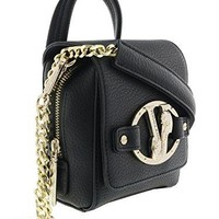Versace EE1VQBBJ9 E899 Black Satchel Bag
