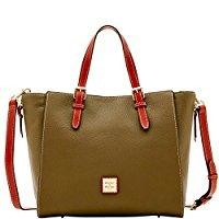 Dooney & Bourke Pebble Grain Large Mindy Top Handle Bag