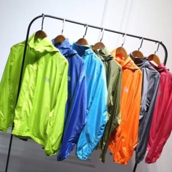 The North Face New fashion summer sun-sun-protective clothing for men and women top dust cost seven color