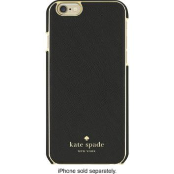 kate spade new york - Wrap Case for Apple® iPhone® 6 and 6s - Saffiano Black