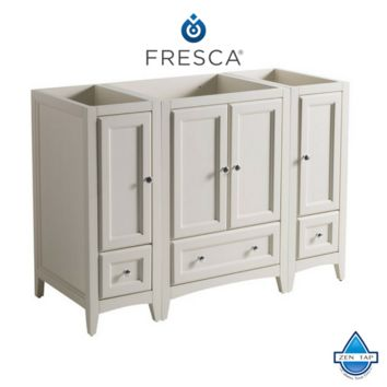 "Fresca Oxford 48"" Traditional Bathroom Cabinets"