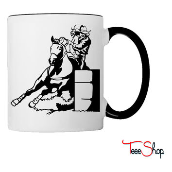 Barrel Race Lady Girl Coffee & Tea Mug