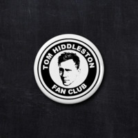 Tom Hiddleston fan club button