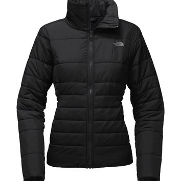 The North Face Women's Harway Jacket - TNF Black and Foil Grey -M