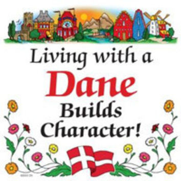 Kitchen Wall Plaques: Living With Dane