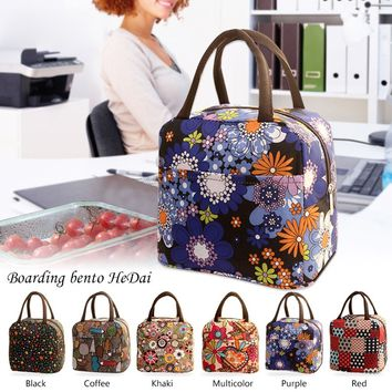 Super Delicate Thermal Insulated Tote Picnic Lunch Cool Bag Cooler Box Handbag Pouch