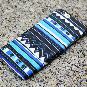 Blue Tribal iPhone 6/6s Case iPhone 6/6s Plus Case iPhone 5c Galaxy S6 Edge Note 5 Case 033