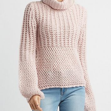 Cowl Neck Sweater | Charlotte Russe
