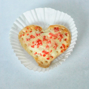 Heart Shaped Mini Hand Pies (12) Edible Favors Wedding Birthday Baby Shower Bridal Shower Edible Gift