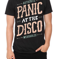 Panic! At The Disco Wearables Slim-Fit T-Shirt | Hot Topic