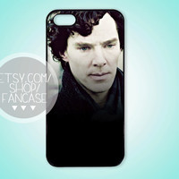 BBC Sherlock Benedict Cumberbatch iPhone 4 4s 5 Case by fancase