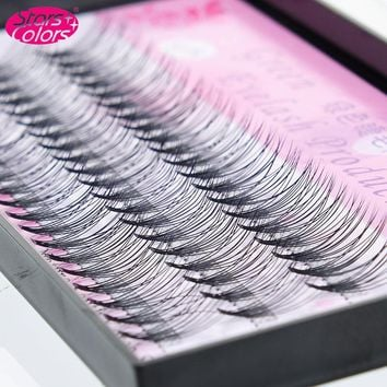 0.10 mm C Curl Faux Mink Eyelashes Natural Soft False Eyelashes Planting Fake Eyelash Extensions Silk Lashes Fake Eyelashes