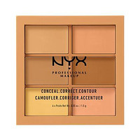 NYX Conceal, Correct, Contour Palette - Medium - #3CP02