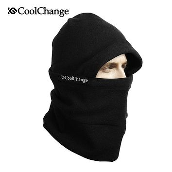 CoolChang Warm Winter Ski Hat Bicycle Face Mask Cap Thermal Fleece Mask Cycling Motorcycle Sports Snowboard Bike Face Mask Scarf