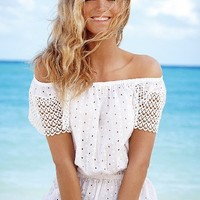 Eyelet Cinch-waist Top - Victoria's Secret