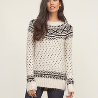 Fair Isle Shine Sweater