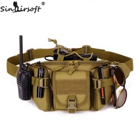 Sinairsoft Tactical Molle Bag Waterproof Waist Bag