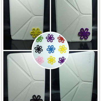 White iPad mini smart cover,thin iPad mini smart case, kawaii ipad mini smart cover