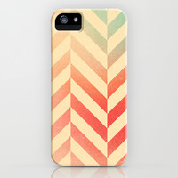 Chevronia XVI iPhone & iPod Case by Rain Carnival