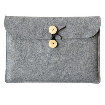 Surface  pro case , Surface  pro 2 cover, Surface Pro 3 sleeve , Surface 3 case, Microsoft Surface pro, Grey bag,Christmas gift ideas