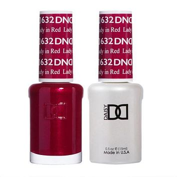 DND - Gel & Lacquer - Lady In Red - #632