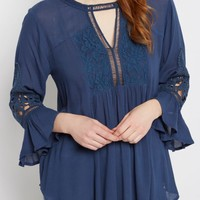 Rose Lace Babydoll Top | Blouses | rue21