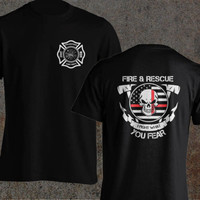 Volunteer Firefighter Dept Fireman Fight Your Fear