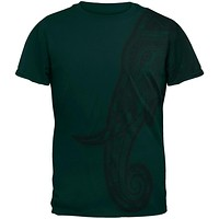 Tribal Mosaic Elephant Mens T Shirt