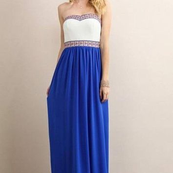 Uptown Royalty Maxi Dress