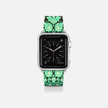Vamil damask ikat apple watch band Apple Watch Band (38mm)  by Sharon Turner | Casetify
