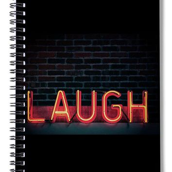Laugh - Spiral Notebook