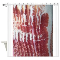 Bacon Shower Curtain