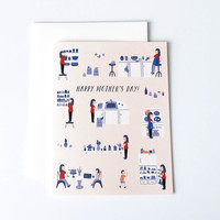 Mother's Day Kitchen Card