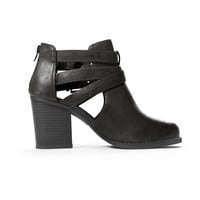 Black Scribe Ankle Booties