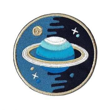 """Saturn Blues"" Patch"