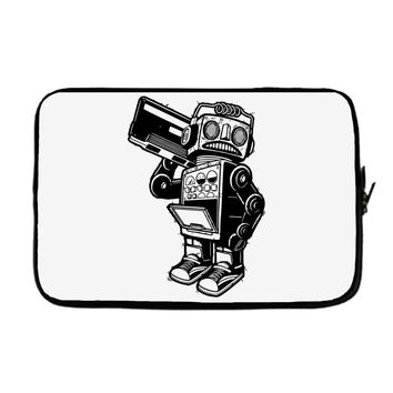 dance robot music old Laptop cover
