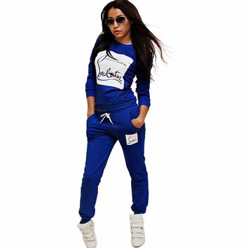 Two Piece Set Womens Tracksuit