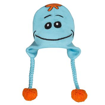 Rick and Morty Happy/Angry Meeseeks Reversible Beanie