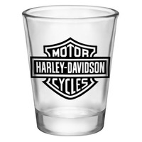 Shot Glass - Harley Davidson Logo (2oz)