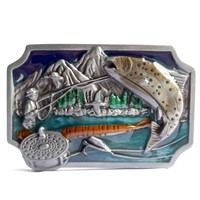 Fish Belt Buckle  For Mens
