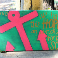 Anchor painting- Hebrews 6:19