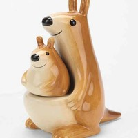 Kangaroo Salt & Pepper Shaker Set- Brown One