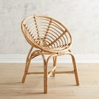 Papasan Natural Dining Chair